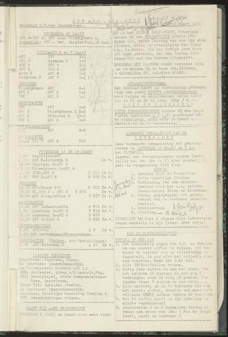 Bulletins (vnl. opstellingen) 1953-03-10