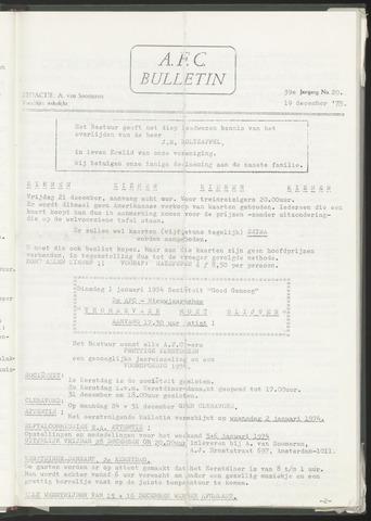 Bulletins (vnl. opstellingen) 1973-12-19