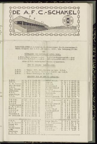 Schakels (clubbladen) 1941-04-24