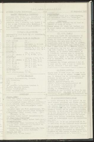 Bulletins (vnl. opstellingen) 1957-09-17