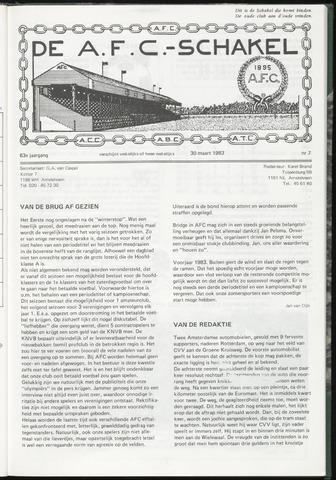 Schakels (clubbladen) 1983-03-30