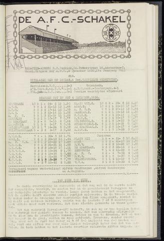 Schakels (clubbladen) 1938-12-08