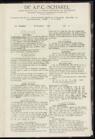 Schakels (clubbladen) 1943-09-30