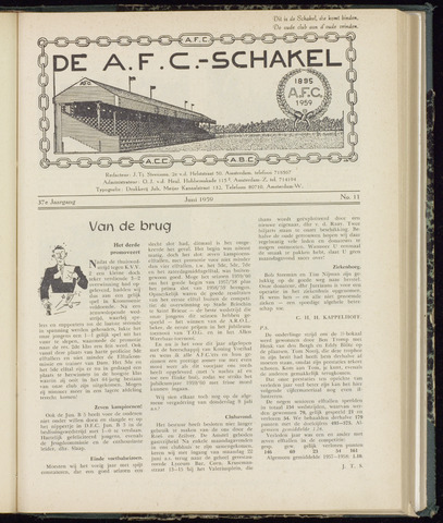 Schakels (clubbladen) 1959-06-01