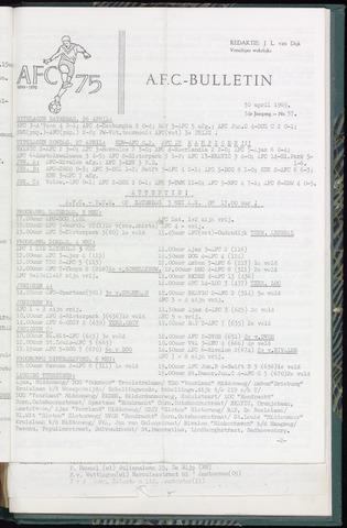 Bulletins (vnl. opstellingen) 1969-04-30