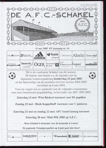 Schakels (clubbladen) 2005-05-11