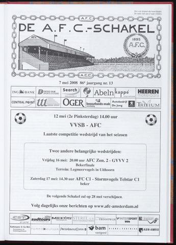 Schakels (clubbladen) 2008-05-07