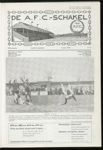 Schakels (clubbladen) 1979-04-11