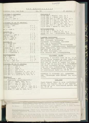 Bulletins (vnl. opstellingen) 1963-10-16
