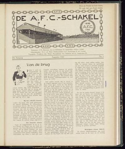 Schakels (clubbladen) 1960-08-01