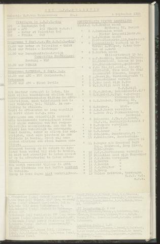 Bulletins (vnl. opstellingen) 1956-09-04