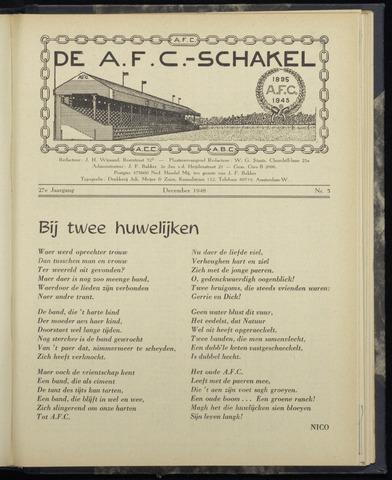 Schakels (clubbladen) 1948-12-01
