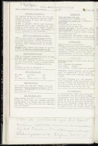 Bulletins (vnl. opstellingen) 1960-05-24