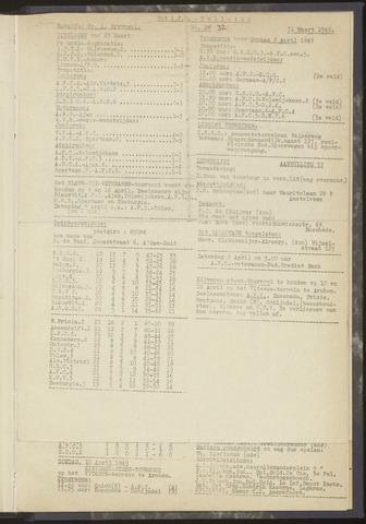 Bulletins (vnl. opstellingen) 1949-03-24