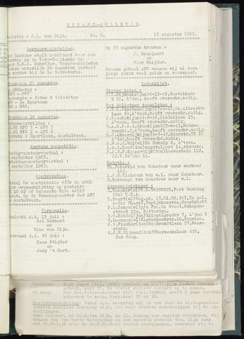 Bulletins (vnl. opstellingen) 1963-08-13