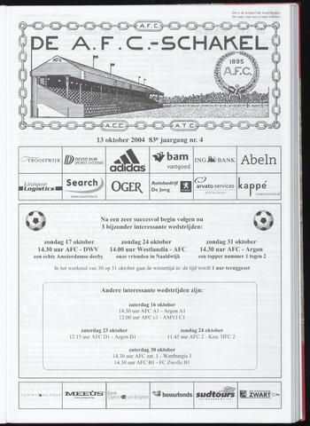 Schakels (clubbladen) 2004-10-13