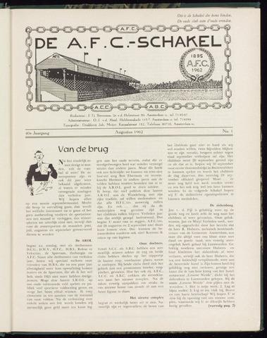 Schakels (clubbladen) 1962-08-01
