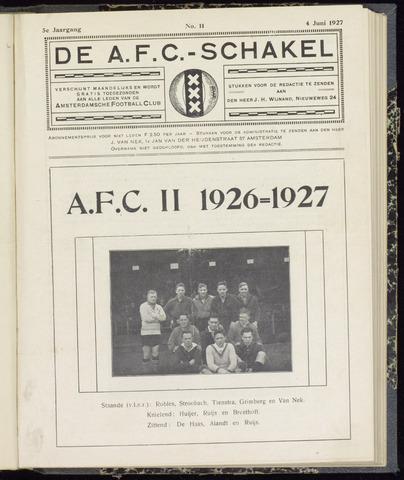 Schakels (clubbladen) 1927-06-04