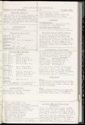 Bulletins (vnl. opstellingen) 1959-04-21