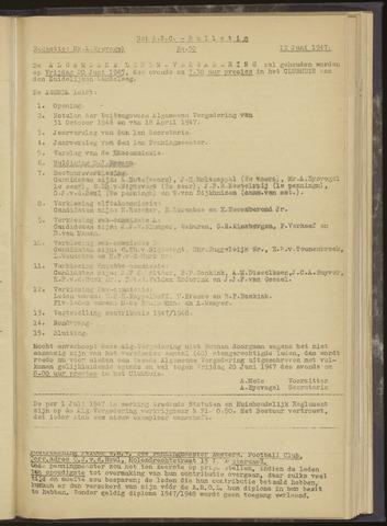 Bulletins (vnl. opstellingen) 1947-06-12