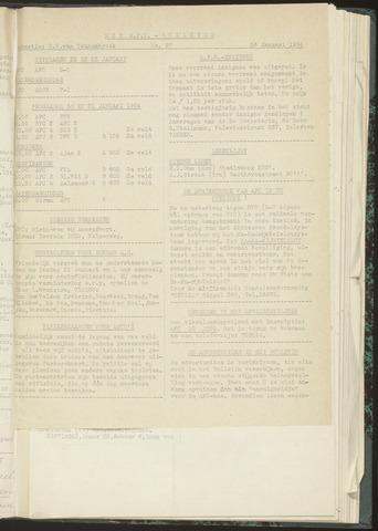 Bulletins (vnl. opstellingen) 1954-01-26