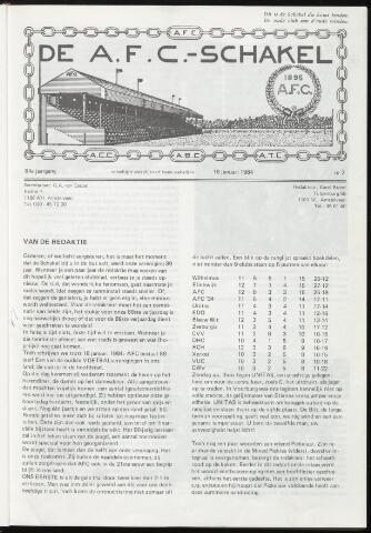 Schakels (clubbladen) 1984-01-18