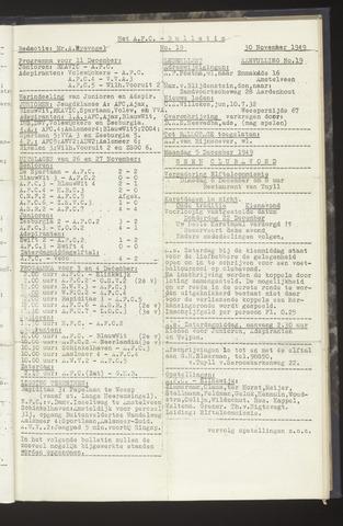 Bulletins (vnl. opstellingen) 1949-11-30