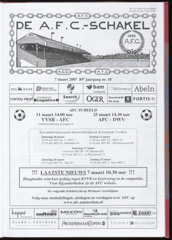 Schakels (clubbladen) 2007-03-07