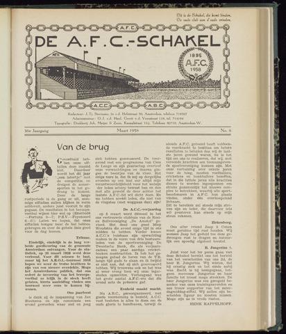 Schakels (clubbladen) 1958-03-01