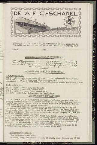 Schakels (clubbladen) 1942-09-17