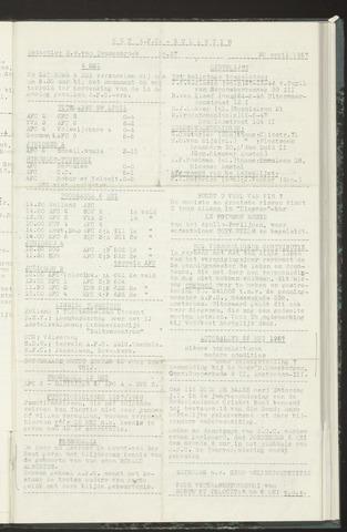 Bulletins (vnl. opstellingen) 1957-04-30