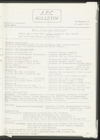 Bulletins (vnl. opstellingen) 1974-03-20