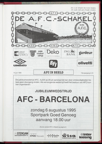 Schakels (clubbladen) 1995-06-14