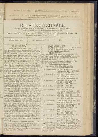 Schakels (clubbladen) 1944-08-31