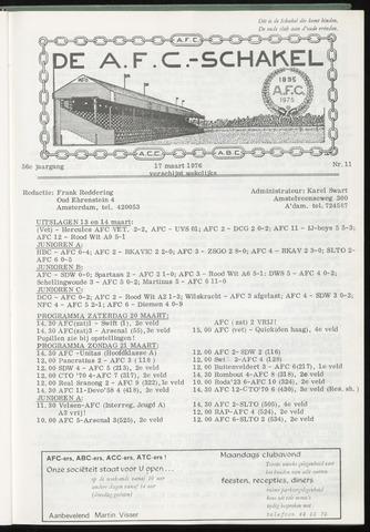 Schakels (clubbladen) 1976-03-17