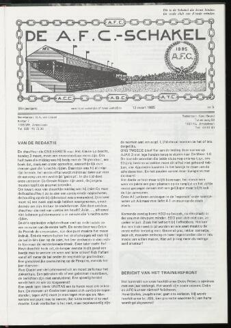 Schakels (clubbladen) 1985-03-13