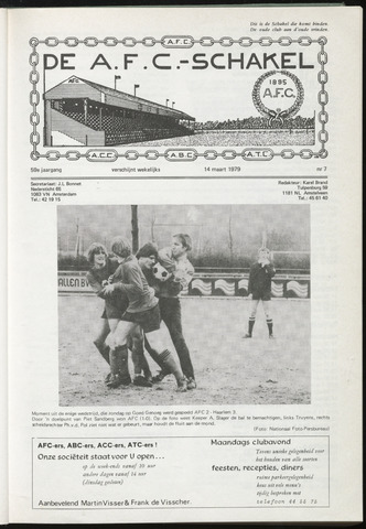 Schakels (clubbladen) 1979-03-14