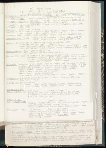 Bulletins (vnl. opstellingen) 1964-05-06