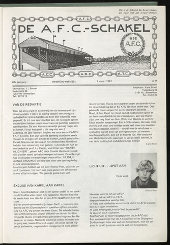 Schakels (clubbladen) 1981-03-04