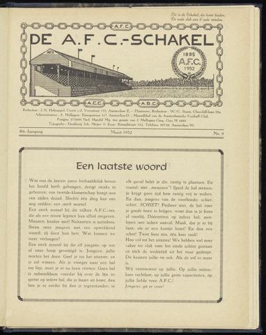 Schakels (clubbladen) 1952-03-01