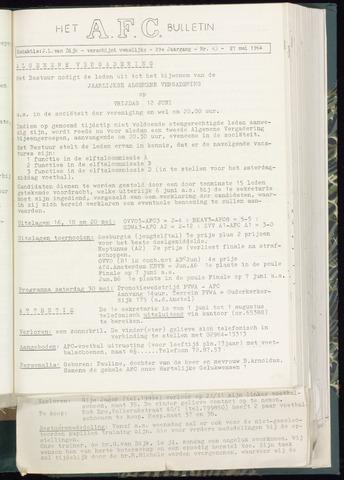 Bulletins (vnl. opstellingen) 1964-05-27