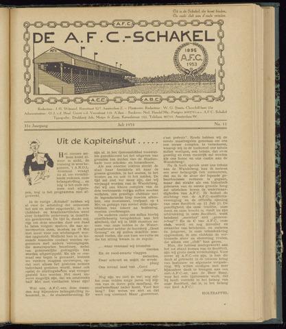 Schakels (clubbladen) 1953-07-01