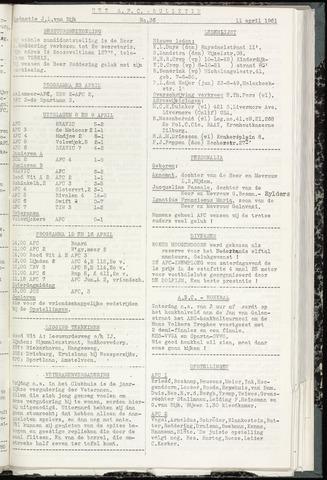 Bulletins (vnl. opstellingen) 1961-04-12