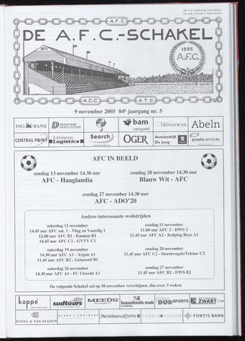 Schakels (clubbladen) 2005-11-09