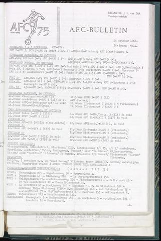 Bulletins (vnl. opstellingen) 1968-10-23