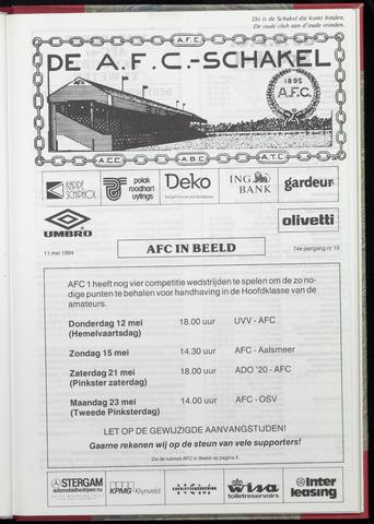 Schakels (clubbladen) 1994-05-11