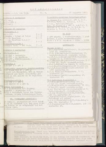 Bulletins (vnl. opstellingen) 1963-08-21