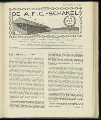 Schakels (clubbladen) 1950-02-01