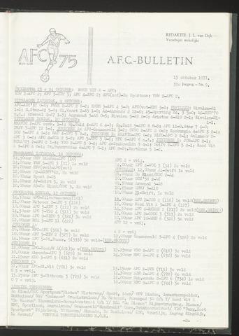 Bulletins (vnl. opstellingen) 1971-10-13
