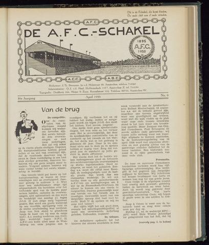 Schakels (clubbladen) 1958-04-01